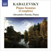 Alexandre Dossin: Kabalevsky, D.: Piano Sonatas and Sonatinas (Complete) - CD