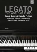 Boris Berezovsky, Roland Pöntinen, Marc-André Hamelin: LEGATO Box  - 4 films by Jan Schmidt-Garre - DVD
