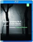 Juliane Banse, Gustav Mahler Jugendorchester, Claudio Abbado: Mahler: Symphony No.4 / Schoenberg: Pelleas & Melisande - BluRay
