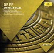 Chor der Deutschen Oper Berlin, Simon Keenlyside, David Kuebler, Christiane Oelze, Orchester der Deutschen Oper Berlin, Christian Thielemann: Orff: Carmina Burana - CD