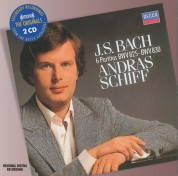 András Schiff: Bach, J.S.: 6 Partitas, Bwv 825 - 830 - CD