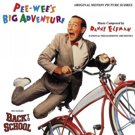 Danny Elfman: Pee-Wee's Big Adventure / Back To School - Plak