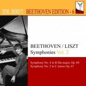 İdil Biret: Beethoven, L. Van: Symphonies (Arr. F. Liszt for Piano), Vol. 2 (Biret) - Nos. 4, 5 - CD