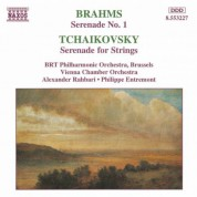 Brahms: Serenade No. 1 / Tchaikovsky: Serenade for Strings - CD