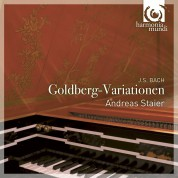 Andreas Staier: J.S. Bach: Goldberg Variations - CD