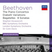 BBC Symphony Orchestra, London Symphony Orchestra, Sir Colin Davis, Stephen Kovacevich: Beethoven: The Piano Concertos - CD