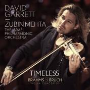 David Garrett, Israel Philharmonic Orchestra, Zubin Mehta: Brahms/ Bruch: Violin Concertos - CD