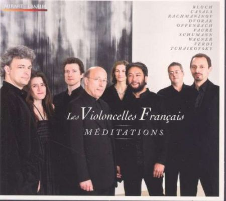 Les Violoncelles Français: Meditations - CD
