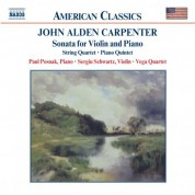 Carpenter: Violin Sonata / String Quartet / Piano Quintet - CD