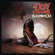 Ozzy Osbourne: Blizzard Of Ozz (Limited Edition - Silver W/ Red Swirl Vinyl) - Plak