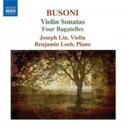 Joseph Lin: Busoni: Violin Sonatas - 4 Bagatelles - CD
