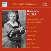 Beniamino Gigli: Gigli, Beniamino: Gigli Edition, Vol.  3: Camden and New York Recordings (1923-1925) - CD