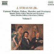 Strauss II: Waltzes, Polkas, Marches and Overtures, Vol.  1 - CD