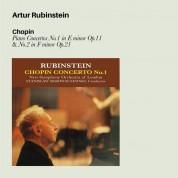 Artur Rubinstein, New Symphony Orchestra of London, Symphony of the Air, Stanislaw Skrowaczewski, Alfred Wallenstein: Chopin: Piano concertos No 1 & 2 - CD