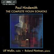 Ulf Wallin, Roland Pöntinen: Hindemith: The Complete Violin Sonatas - CD