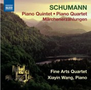 Fine Arts Quartet, Xiayin Wang: Schumann: Piano Quintet - Piano Quartet - Märchenerzählungen - CD
