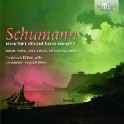 Francesco Dillon, Emanuel Torquati: Schumann: Music for Cello & Piano Vol. 2 - CD