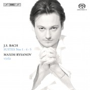Maxim Rysanov: J.S. Bach: Suites for Viola 1 - SACD