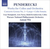 Antoni Wit, Warsaw National Philharmonic Orchestra: Penderecki: Works for Cellos and Orchestra - CD