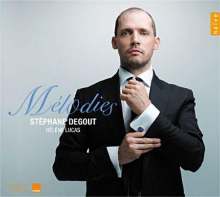Stéphane Degout: Melodies: Stephane Degout & Helene Lucas - CD