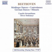 Beethoven: 11 Modlinger Dances / 12 German Dances / 12 Minuets - CD