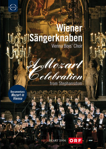 Vienna Radio Symphony Orchestra, Vienna Boys Choir, Sandrine Piau, Bertrand de Billy: Vienna Boys' Choir:  A Mozart Celebration - DVD