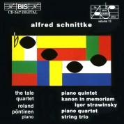 Roland Pöntinen, Tale Quartet: Schnittke - Chamber Music: Piano Quintet - CD