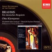 Elisabeth Schwarzkopf, Dietrich Fischer-Dieskau, Philharmonia Chorus, Philharmonia Orchestra, Otto Klemperer: Brahms: Ein Deutsches Requiem op.45 - CD