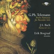 Erik Bosgraaf: Telemann: Fantasias - J.S.Bach: Partita - CD