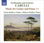 Franz Halasz: Carulli, F.: Guitar and Piano Music, Vol. 1 - CD