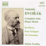 Dvorak: 6 Pieces, Op. 52 / Eclogues, Op. 56 / Furiants, Op. 42 - CD