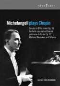 Michelangeli plays Chopin - DVD