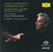 Agnes Baltsa, Berliner Philharmoniker, Herbert von Karajan, Peter Schreier, Anna Tomowa-Sintow, José van Dam, Wiener Singverein: Beethoven: Symphonie No. 9 / Karajan 1976 - SACD