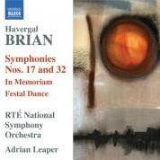Adrian Leaper: Brian: Symphonies Nos. 17 & 32 - CD
