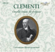 Costantino Mastroprimiano: Clementi: Complete Sonatas for fortepiano - CD