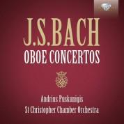 Andrius Puskunigis, Simona Venslovaite, St. Christopher Chamber Orchestra, Donatas Katkus: J.S. Bach: Oboe Concertos - CD