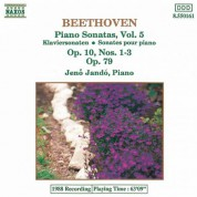 Beethoven: Piano Sonatas  Nos. 5-7, Op. 10  and No. 25, Op. 79 - CD