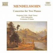 Mendelssohn: Concertos for Two Pianos in A-Flat Major and E Major - CD