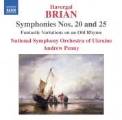 Andrew Penny: Brian: Symphonies Nos. 20 & 25 - CD