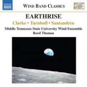 Middle Tennessee State University Wind Ensemble, Reed Thomas: Clarke: Earthrise - Turnbull: Girot - Santandreu: Sortes Diabolorum - CD