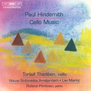 Torleif Thedéen, Roland Pöntinen, Nieuw Sinfonietta Amsterdam, Lev Markiz: Hindemith: Cello Music - CD