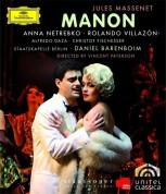 Alfredo Daza, Anna Netrebko, Christof Fischesser, Daniel Barenboim, Rolando Villazón, Staatskapelle Berlin: Massenet: Manon - BluRay