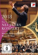 Riccardo Muti, Wiener Philharmoniker: New Year's Concert 2018 - DVD