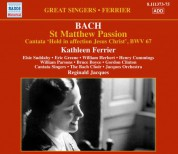 Kathleen Ferrier: Bach: St Matthew Passion - CD