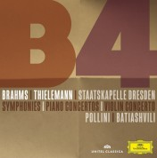 Christian Thielemann, Lisa Batiashvili, Maurizio Pollini, Staatskapelle Dresden: Brahms: 4 Symphonies - CD