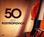 Mstislav Rostropovich: 50 Best Rostropovich - CD