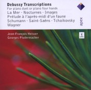 Jean-François Heisser, Georges Pludermacher: Debussy: Transcriptions - CD