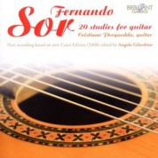 Cristiano Porqueddu: Sor: 20 Studies for Guitar - CD