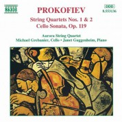 Prokofiev: String Quartets Nos. 1 and 2 / Cello Sonata - CD