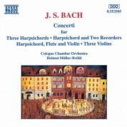 Bach, J.S.: Concertos for Harpsichords, Recorders and Violins - CD